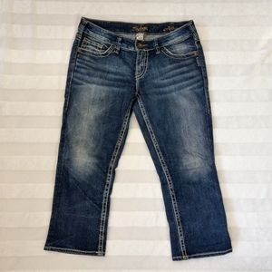 Silver Jeans Aiko Cropped Capri size 30